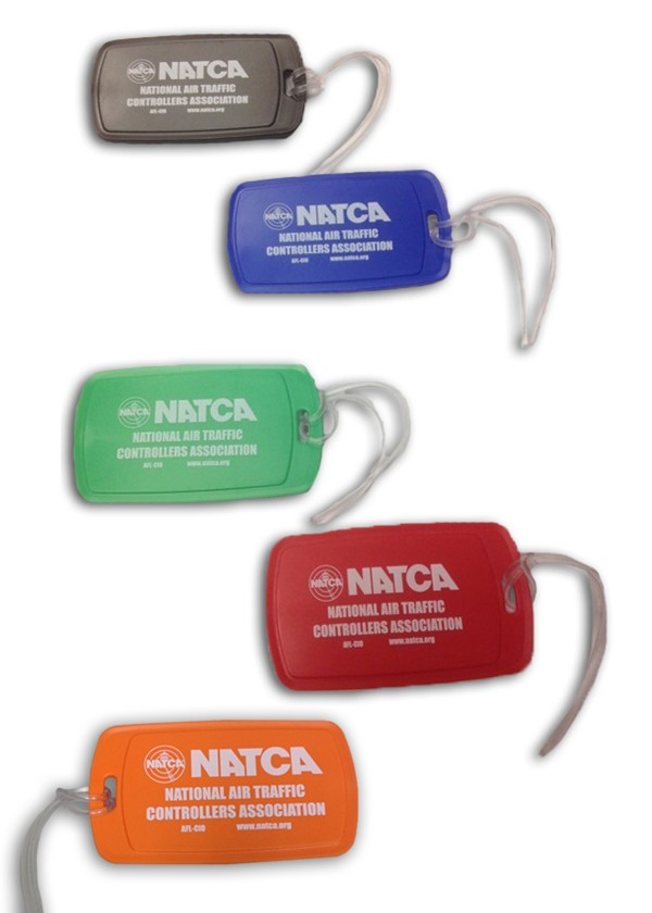 10-Pack Luggage Tags